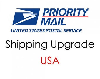 Shipping Upgrade to Priority Mail Domestic U.S. Shipping Only