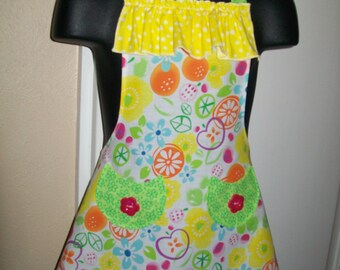 Girls Size 2/3 Flirty Skirt Apron