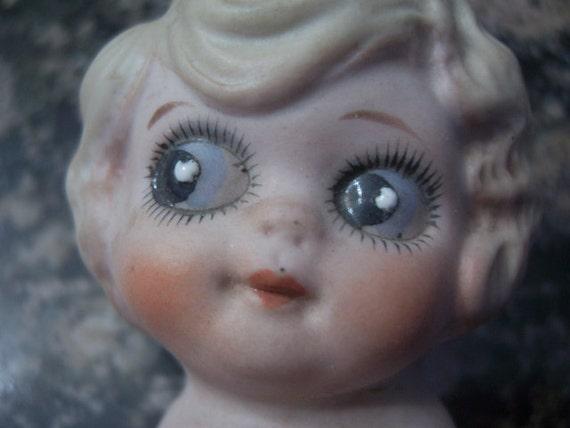 "Googly Eyed Bisque Doll - 6"""