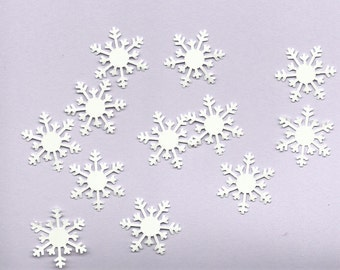 Lot of 12 MS Alpine Snowflake Punchies