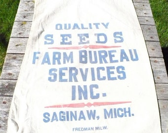 Farm Bureau Seed Sack - Saginaw, Michigan