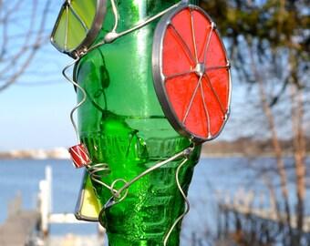 Citrus Hummingbird Feeder Jarritos Bottle