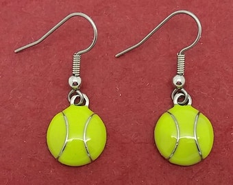 Cutest TENNIS BALL Earrings