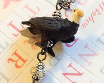 SUPER SALE Elijah The Eagle Necklace