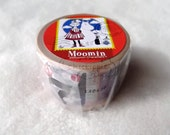 Moomin Stamp Series Washi Masking Tape - What happens then?