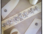 Bridal Sash Belt, Bridal Sash , Wedding Sash Belt , Crystal Wedding Belt, Crystal Bridal Sash, Rhinestone Wedding Belt Sash