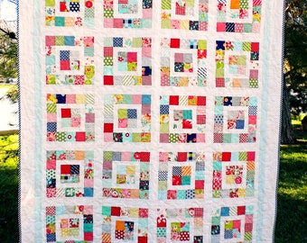 Paper Pattern for County Fair Quilt