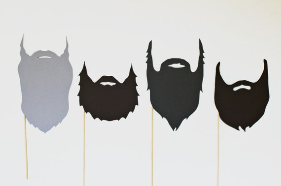 Photo Booth Props - Duck Dynasty Photo Props. Duck Commander. Duck Dynasty Photobooth. Beards on a stick