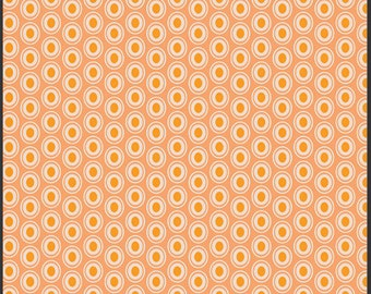 Art Gallery Oval Elements Fabric Peaches n Cream  BTY