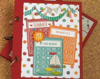 Summer Memories at the Beach Premade Scrapbook