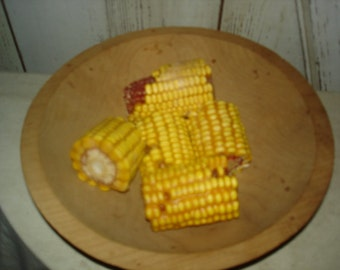 Scented Waxed Corn Chunks, Primitive, Rustic, Fall, Halloween, Thanksgiving, Bowl Fillers, Ofg, Faap, Hafair
