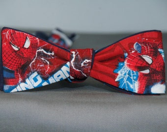 Spider-Man in Red  Bow Tie