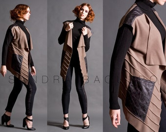 Pintuck Vest with Pockets