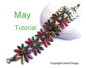 May Daggers&Pyramid beads Bracelet PDF Tutorial