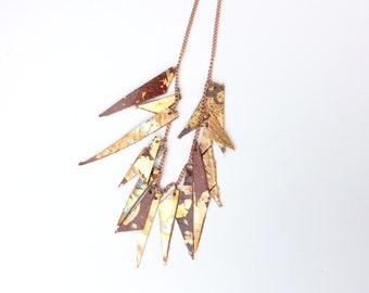 Leather Bones Necklace