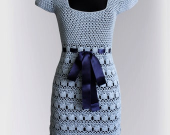 Crochet  Dress Pattern No 239