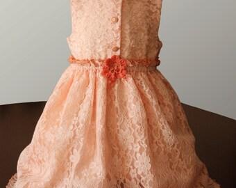 Lace Girl Dress.