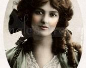 "Vintage Photograph ""Olivia"" Digital Image - Commercial Use"