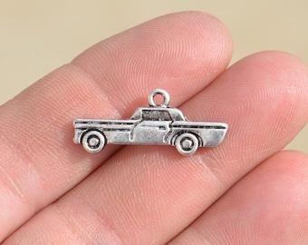 5  Silver Car Charms SC1510