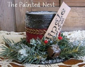 Frosty's Hat Decoration, Upcycled, Recycled, Easy