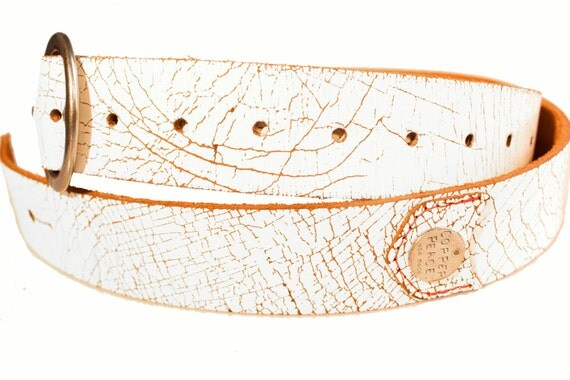 Weathered Leather Guitar Strap