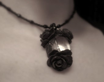 Black Rose Pendant