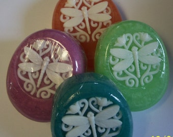 "Dragonfly ""Believe"" glycerin decorative soap"