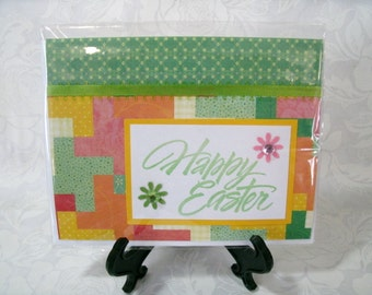 Handmade Easter card, Blank inside #5615