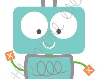 Graphic Design - Baby Robot (Digital File)
