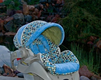 custom replacement baby car seat cover graco by bbsprouts on etsy. Black Bedroom Furniture Sets. Home Design Ideas