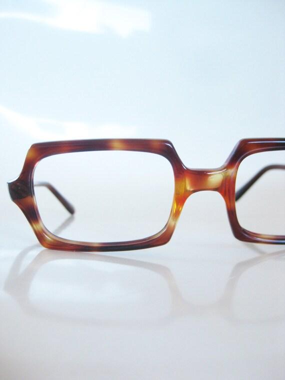 SALE Vintage Eyeglasses 1960s Glasses Italy Italian