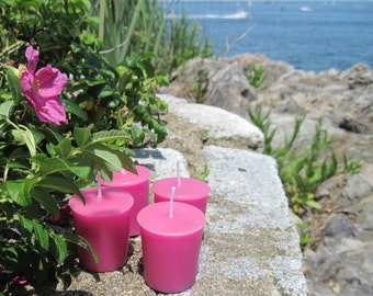 BEACH PLUM (4 votives or 4-oz soy jar candle)