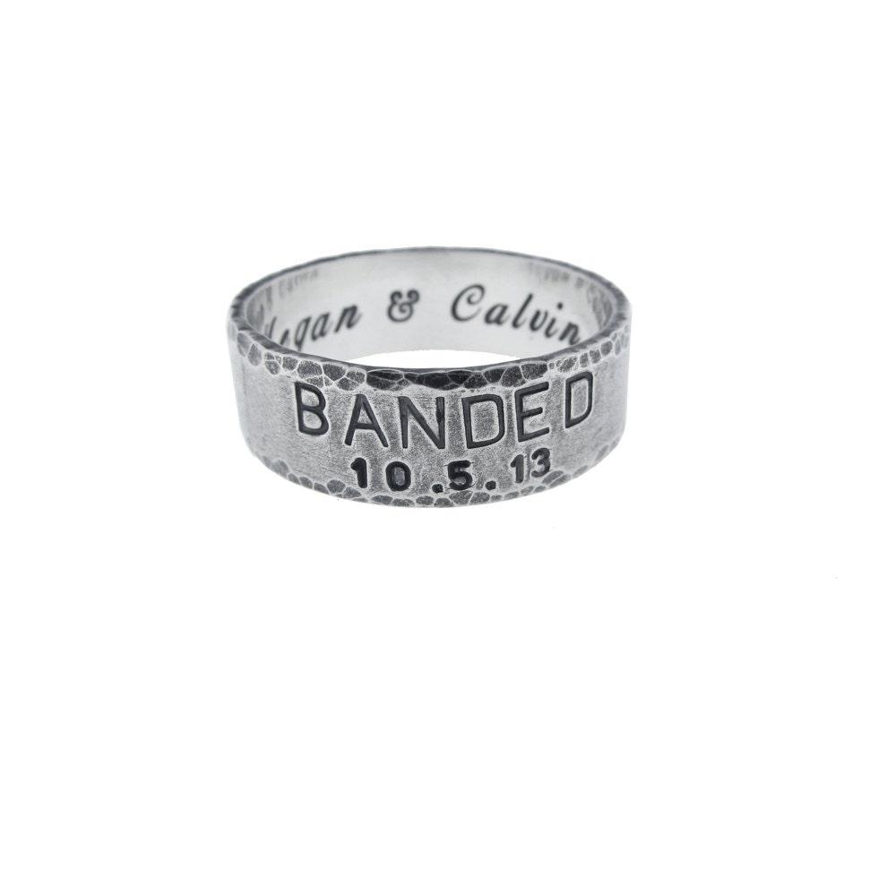 duck band wedding rings for men