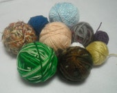 Partial Yarn Balls Destash for Crafting, Crochet, Knitting CLEARANCE Marked down!