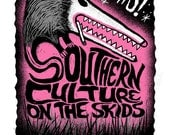 Southern Culture On The Skids 2014 Screenprinted Poster