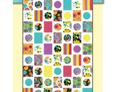 SWEET SPOTS ©2014 Modern Quilt Pattern by Nellie J Designs