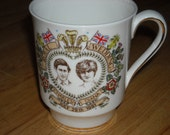Hammersley China  1981 Prince Charles & Lady Diana commemerative mug