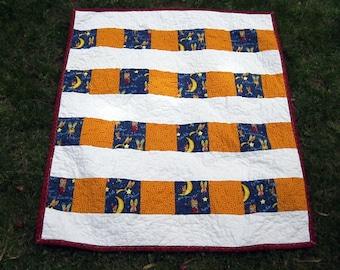 Baby Shower Gift, Baby Quilt, Newborn Blanket, Little Boy Blanket, Baby Boy Quilt, Baby Blanket, Handmade Quilt, Quiltsy Handmade
