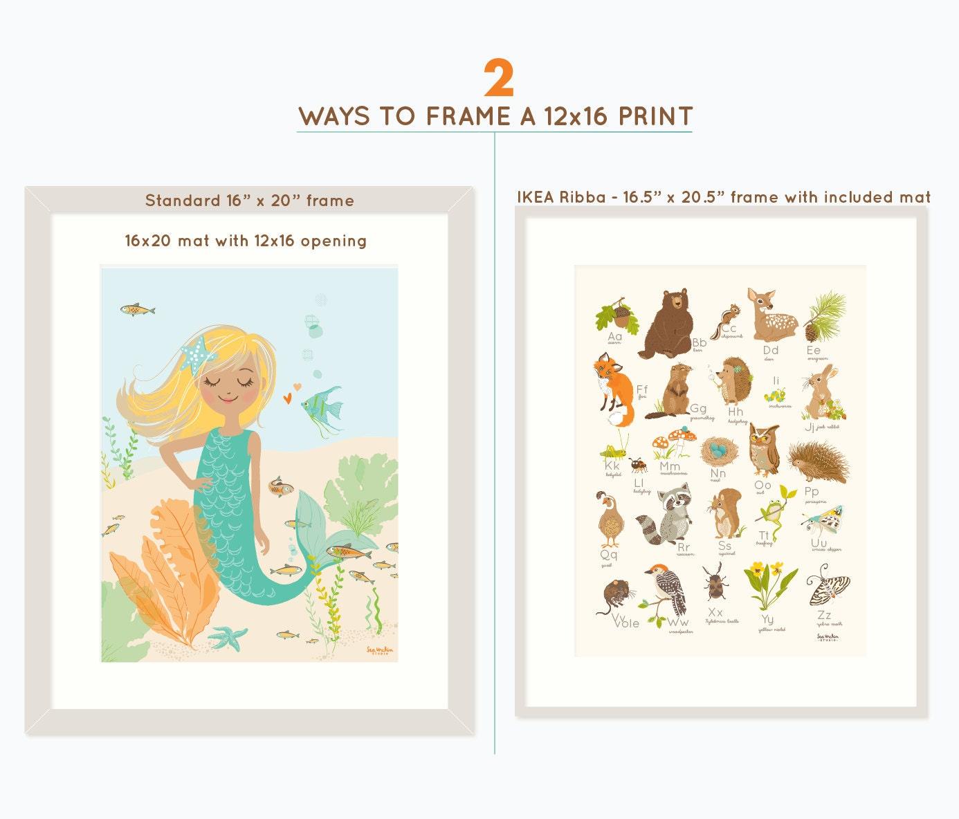 Woodland Wall Art Nursery Wall Decor For Kids Forest