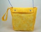 Sunshine Yellow Knitting Project Bag