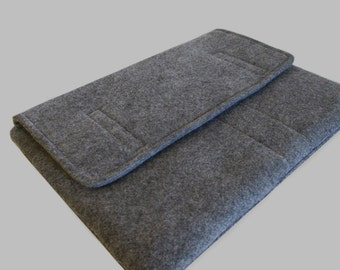 Microsoft Surface Case, Surface Book Case, Surface Sleeve, Surface Cover, Surface Pro 2 3 4 RT Case Grey Felt
