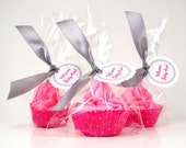 Custom Listing for Molly Cupcake Bath Bomb Minis with Whipped Soap Frosting Set of 40 Individually Wrapped COMPLIMENTARY SHIPPING