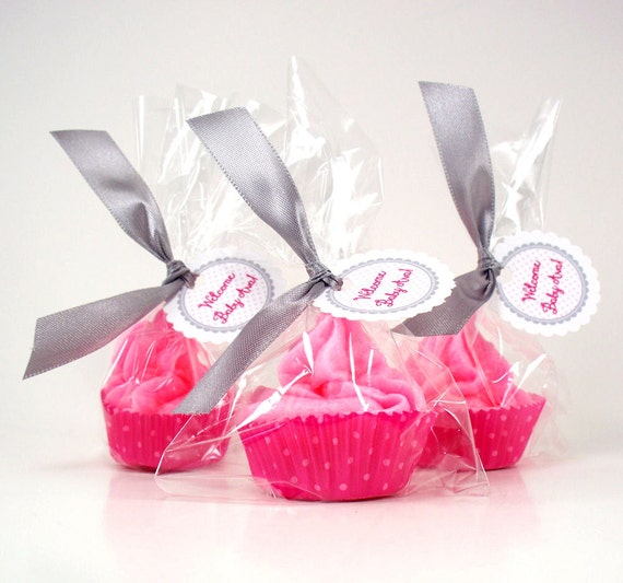 Cupcake Bath Bomb Minis with Whipped Soap Frosting Set of 25 Individually Wrapped (Vegan Friendly) COMPLIMENTARY SHIPPING