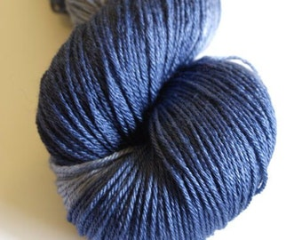 Tardis Smooshie sock weight yarn