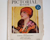 Magazine Cover, Pictorial Review, 1928