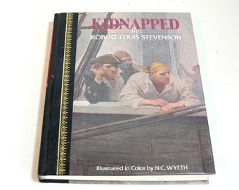 Kidnapped By Robert Louis Stevenson Vintage Childrens Book