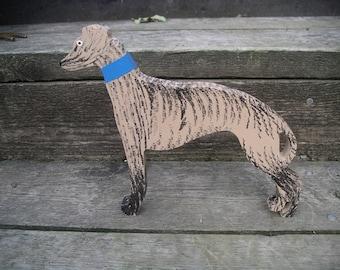 Wooden Greyhound - free standing