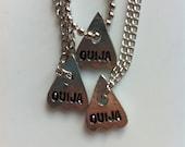 Ouija Planchette Charm - Necklace