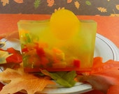 Soap - Harvest Moon Soap - Glycerin Soap - Handcrafted Soap -  Great Fall Season Soap - SoapGarden