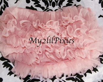 BABY BLOOMERS,Vintage Pink Baby Bloomer,Diaper Cover,Ruffle Bum Baby Bloomer,Ruffle Diaper Cover,Newborn bloomer, Girl bloomer Ready to ship